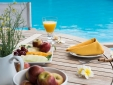 Stay at Pousada Tutabel Trancoso Bahia breakfast fresh fruit romantic relaxation