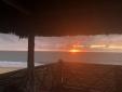 Stay at Pousada Thaynã Caraíva Bahia brazil sundowner sea paradise nature