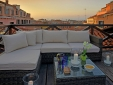 The Canella apartment has a private roof top terrace