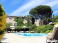 Provençal mansion and swimming pool