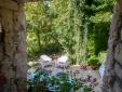 Trendy patio