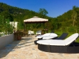 Terrace at the pool