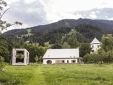 manor house, barn and villa