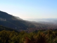 View of Pescia and the valley