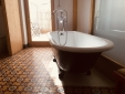 Bathtub in room 5 with terrace