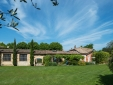 Mas des Oules-pool by night