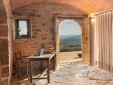 Swimming pool with magnificent view of the Gavarres massif