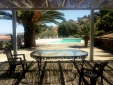 traditional Country house Lagar el Alzotano Spain Extremadura swimming pool table