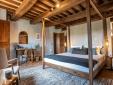 beautiful country house bedroom Borgo Castello Panicaglia Italy Secretplaces