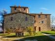 outside beautiful country house Hotel Borgo Castello Panicaglia Umbria Italy Secretplaces