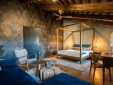 beautiful country house bedroom Borgo Castello Panicaglia Secretplaces