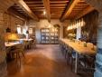 restaurant castle Hotel Borgo Castello Panicaglia Umbria Italy Secretplaces