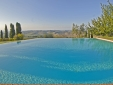 Lucignanello Bandini San Giovanni D'Asso Tuscany Italy The infinity pool