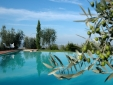Lucignanello Bandini San Giovanni D'Asso Tuscany Italy infinity swimming pool