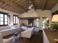 Lucignanello Bandini San Giovanni D'Asso Tuscany Italy Casa Maria - living room