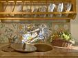 Lucignanello Bandini San Giovanni D'Asso Tuscany Italy Casa Remo - kitchen