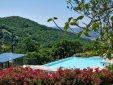 Locanda del Gallo Gubbio Umbria Italy 30.000 square meters of beautiful gardens