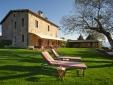 Locanda del Gallo Gubbio Umbria Italy Dining room
