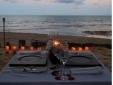 """""""Jantar rom\u00e2ntico na praia"""""""