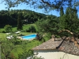 Large pool with lots of shade L´Ariete Montone Umbria Italy