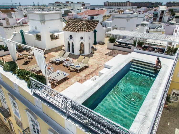 Casa Fuzetta Villa Algarve Portugal dreamhouse with terrace and pool