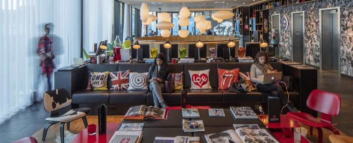 citizenM London Shoreditch hotel