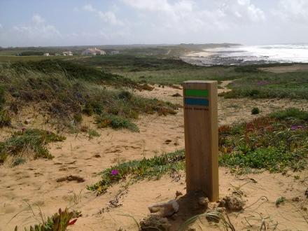 Refúgio da Praia dentro dos