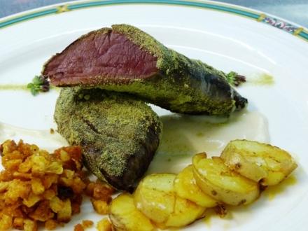 Restaurante El Milano Real - Solomillo de Venado