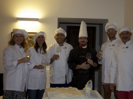 Cooking classes at Castello di Montignano