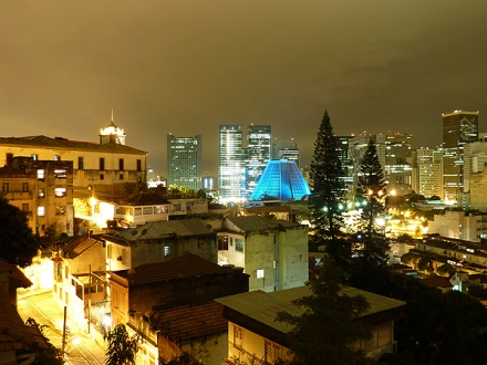 Casa da Gente - night view