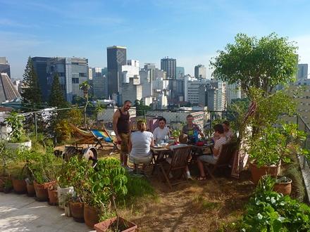 Casa da Gente - Garden breakfast