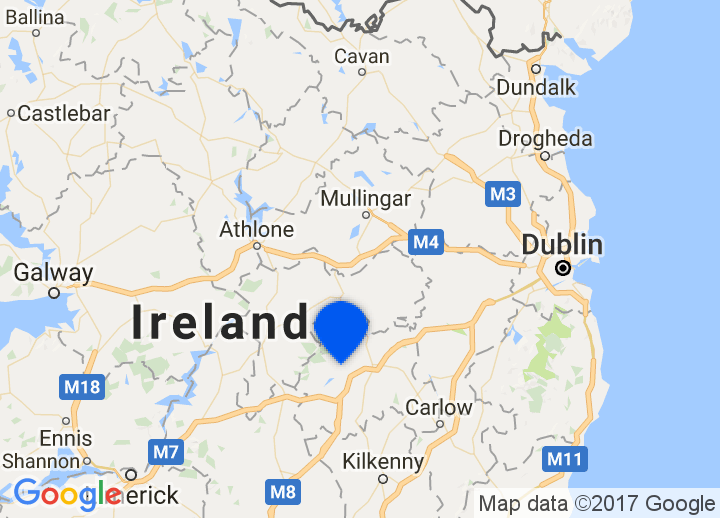 Map Of Ireland Midlands.Secretplaces Boutique Hotels And Holiday Homes Midlands East