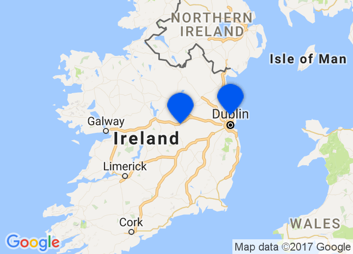 Secretplaces Boutique Hotels And Holiday Homes Ireland - Ireland on map