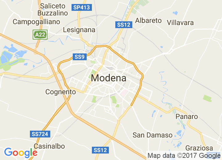 Lets go to Modena