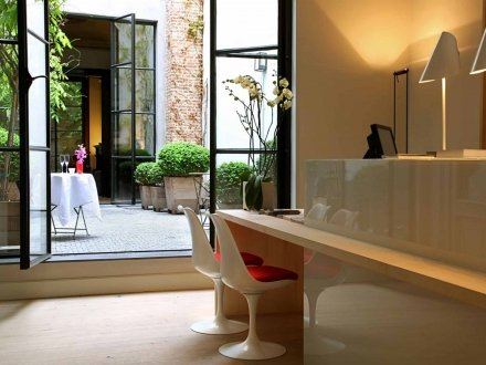 Hotel Julien Antwerp boutique design