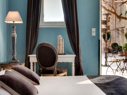 Hotel Gounod Saint Rémy de Provence hip hotel best romantic