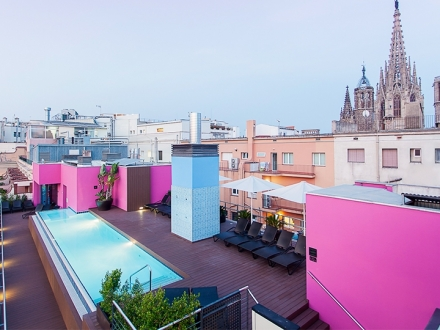 Hotel Barcelona Catedral Hotel design hotel