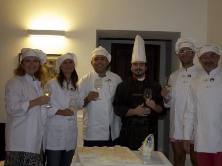 Cooking classes at Castello di Montignano